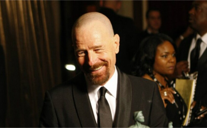 Bryan Cranston at the 19th Annual Screen Actors Guild Awards at the Shrine Auditorium in Los Angeles in January.