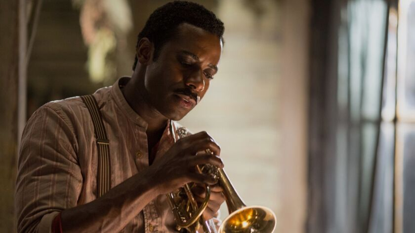 "Gary Carr stars as Charles ?Buddy? Bolden, the pioneer of Jazz in a scene from ""Bolden."" Credit: Fre"