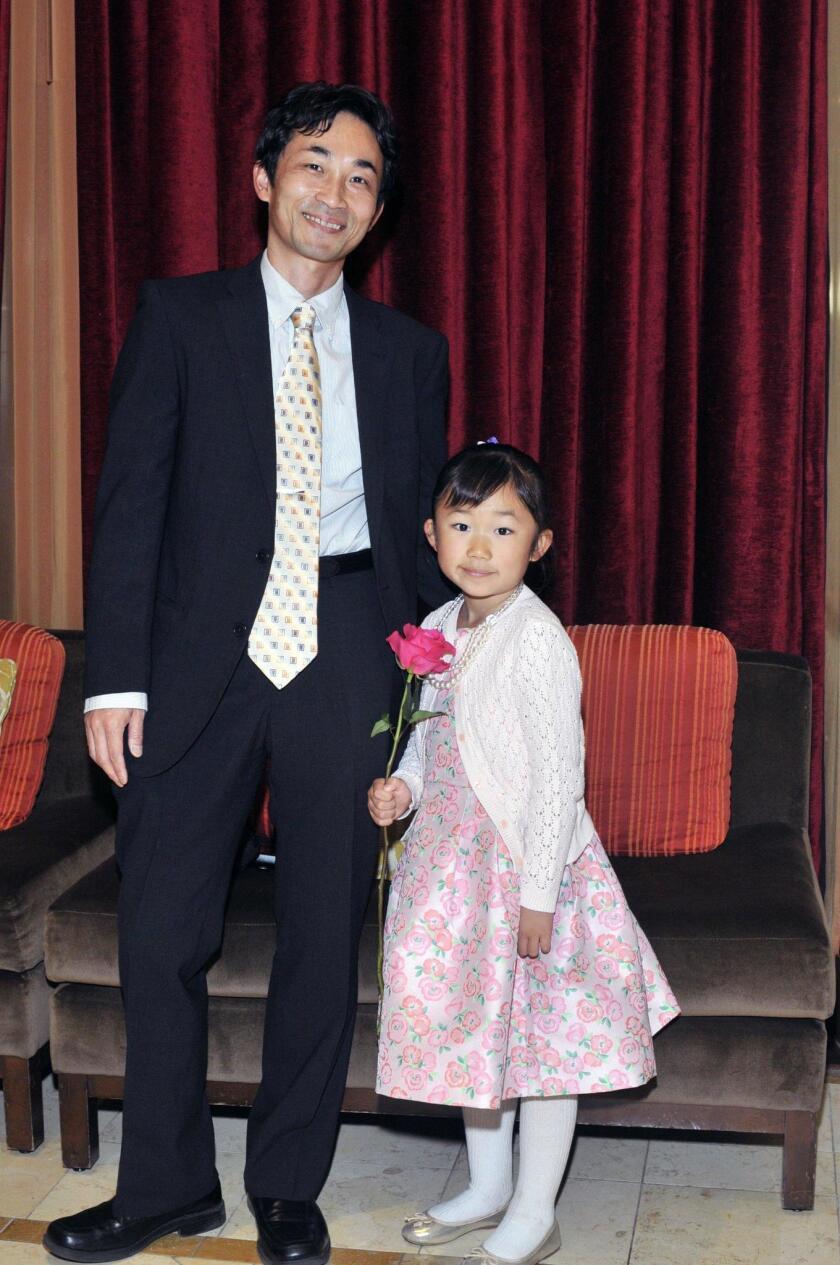 Takehito Hananochi and Yume