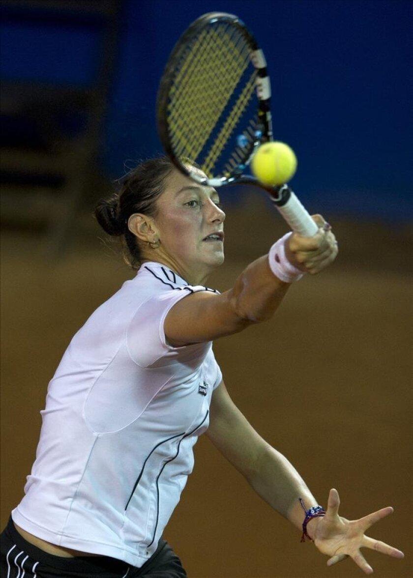 La tenista colombiana Mariana Duque Marino. EFE/Archivo