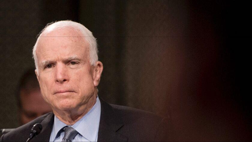 U.S. Sen. John McCain of Arizona