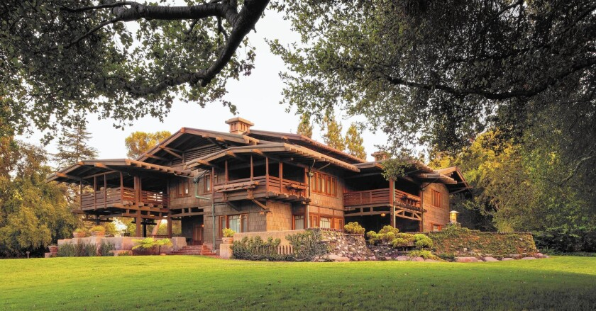 Gamble House in Pasadena
