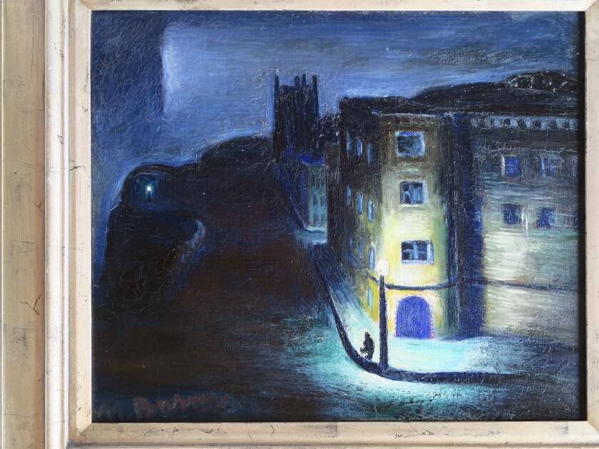 Matthew Barnes: Painter of the Night
