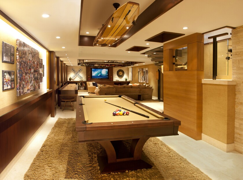 KKC Fine Homes: Game room and more