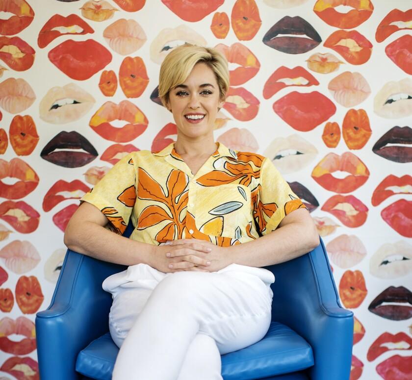 LOS ANGELES, CA - MAY 6, 2019: Show-runner Lauren Morelli heads up Netflix's sequel robot series fol