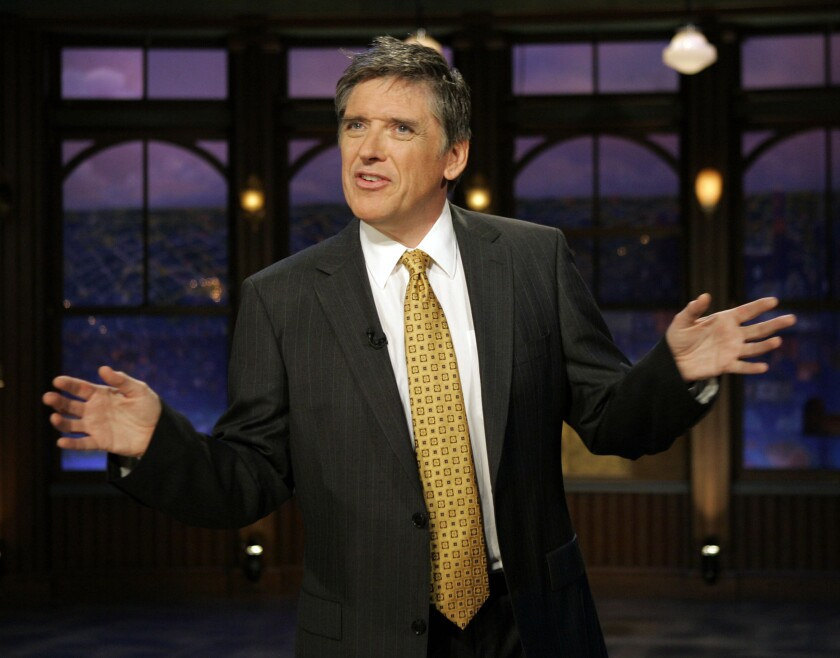 "Craig Ferguson on the set of CBS' ""The Late Late Show."""