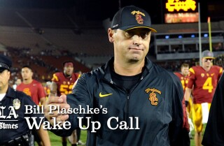 Bill Plaschke's Wakeup Call: The USC lawsuit benefits no one