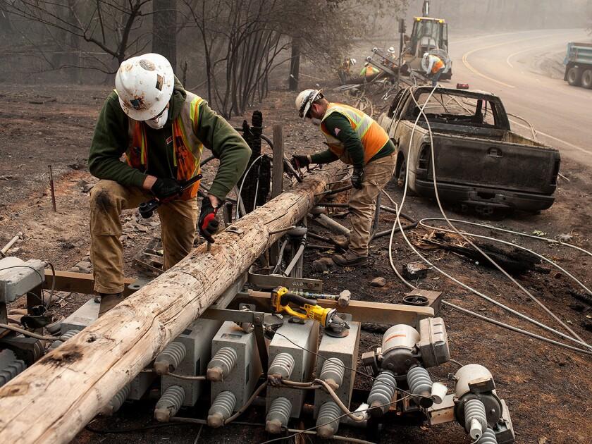 PG&E power lines caused Californiaís deadliest fire, investigators conclude