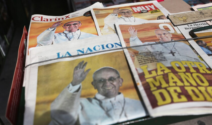Pope Francis' hometown: Proud and sometimes profane