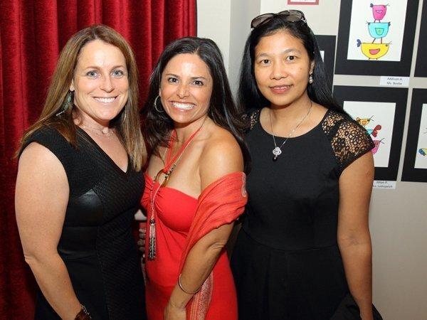 Liz Brown (Event Co-chair), Melissa Catanzaro (PTA Pres), Naing Win