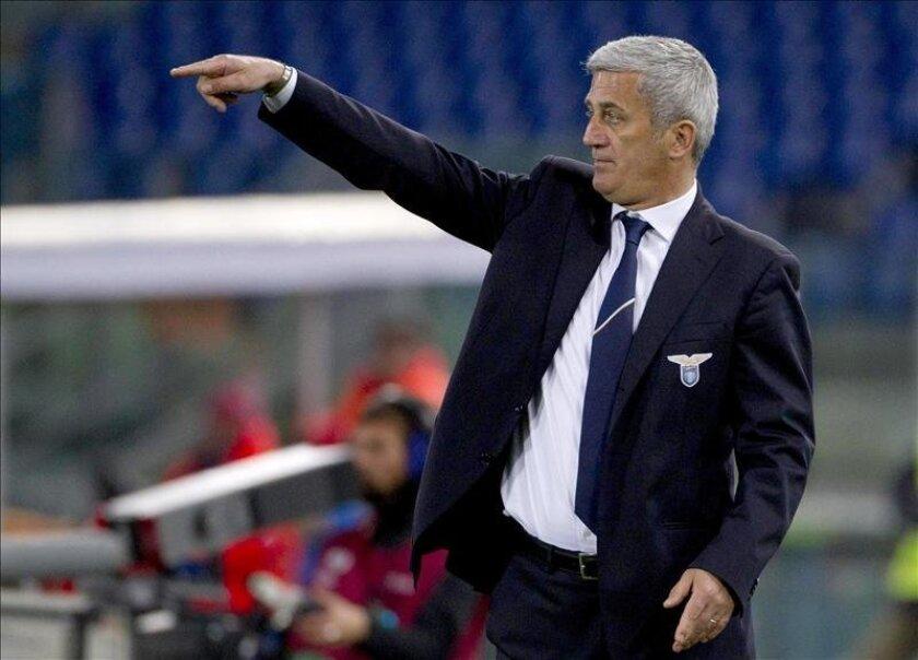 El director técnico de la Lazio, Vladimir Petkovic. EFE/Archivo