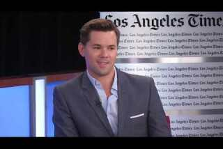 'Girls' star Andrew Rannells on what it's like to film a romantic date scene in Times Square