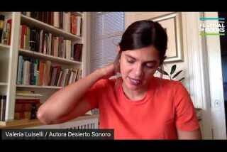 A Conversation with Valeria Luiselli | Desierto Sonoro