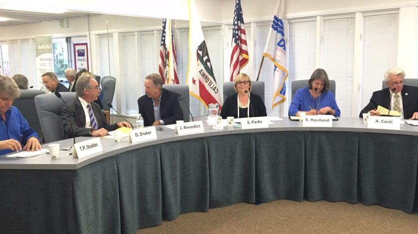 The six candidates for Del Mar City Council.