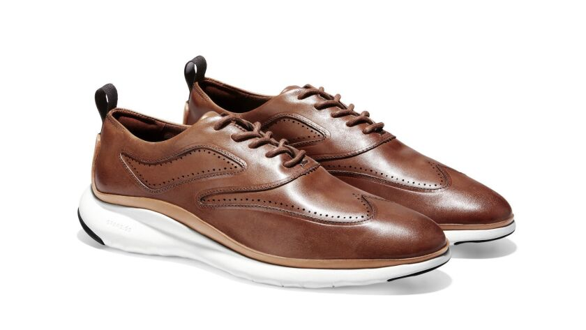 Walk, bike, or skateboard to an important meeting in these formal-looking Oxford shoes with a decept