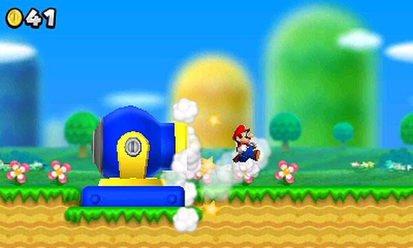 Mario's back