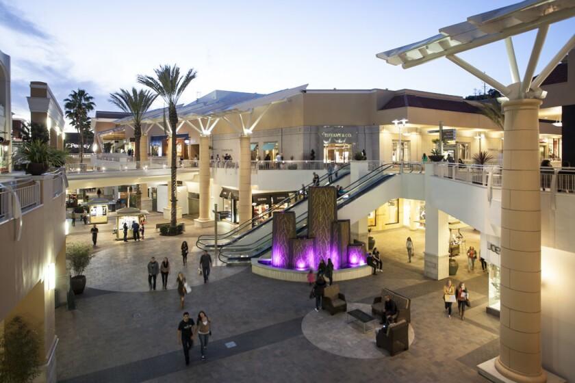 Fashion Valley is a Simon mall. (Courtesy photo)