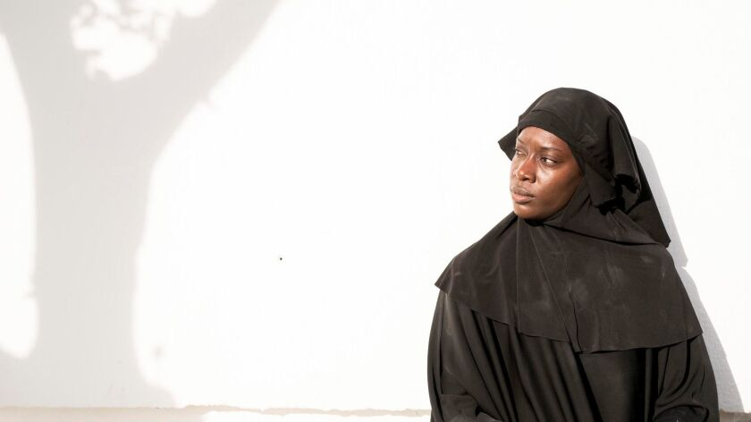 """Ony Uhiara costars in """"The State,"""" a new four-part miniseries about four British citizens who join ISIS, airing on National Geographic Channel."""