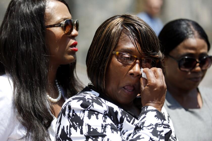 LOS ANGELES, CA JULY 31, 2017: Dennis' older sister Cynthia Billingsley, left, mother Janet Wil