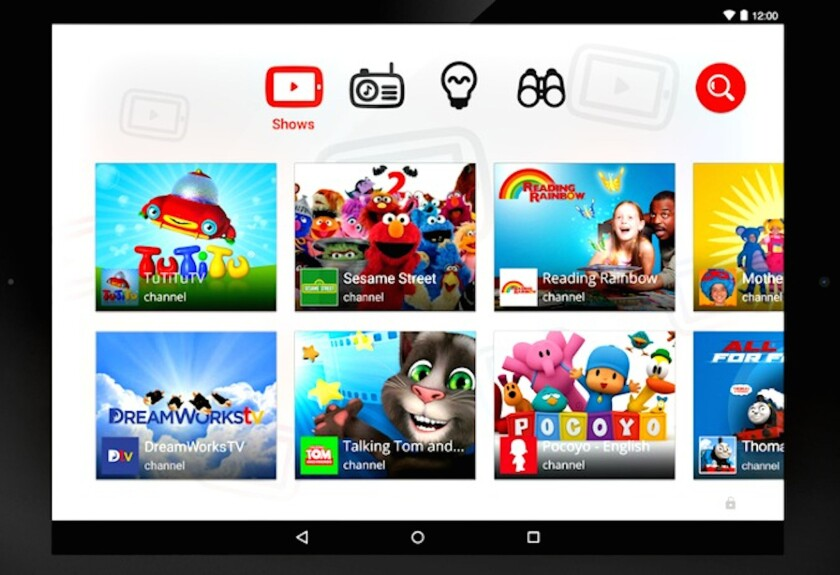The YouTube Kids app features videos for children along with parental controls. But some children's advocacy groups say it exposes young audiences to an excessive amount of advertising.