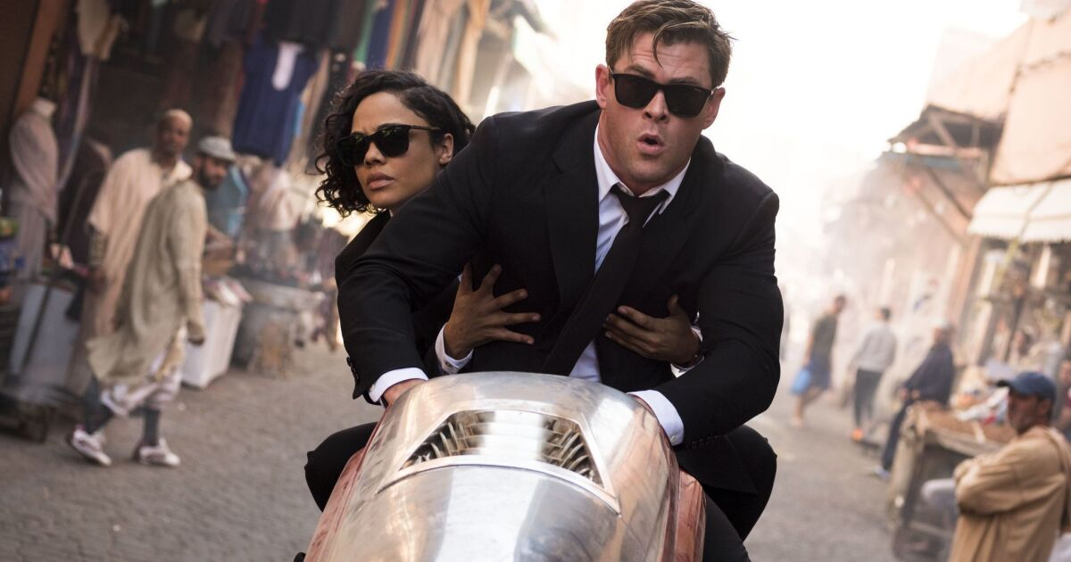 Men in Black: International' continues the summer box