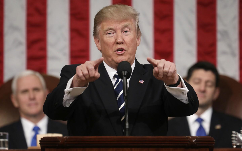 President Trump's first speech to Congress