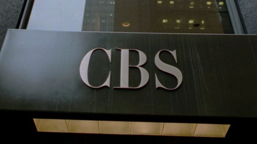 CBS Corp. is weighing whether to merge with Viacom Inc. or plot its own course. Above, CBS headquarters in New York.