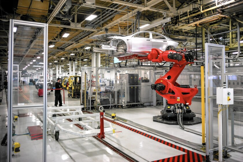 Tesla has more than 9,000 workers in the state, including more than 5,000 in manufacturing.