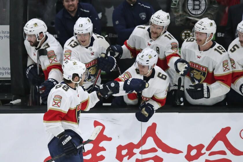 Panthers Bruins Hockey