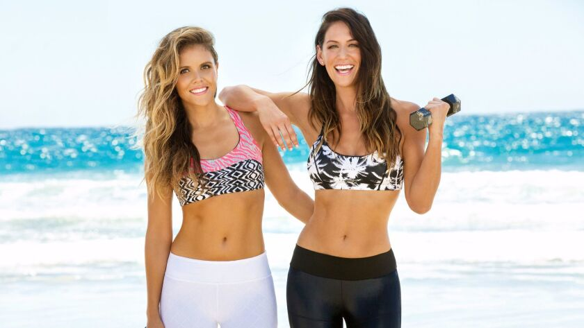 Tone It Up founders Karena Dawn, right, and Katrina Scott.