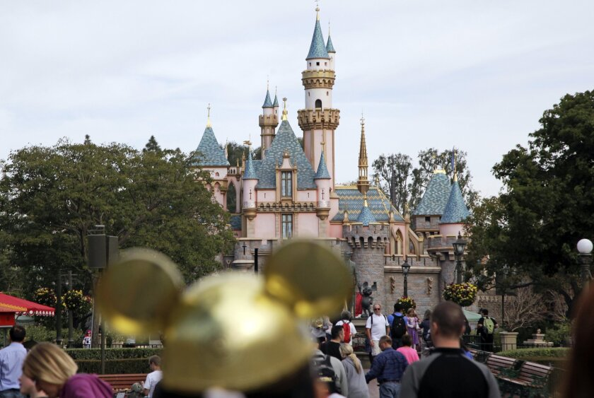 Disneyland. A worker died Aug. 29 after being hit by a metal plate.