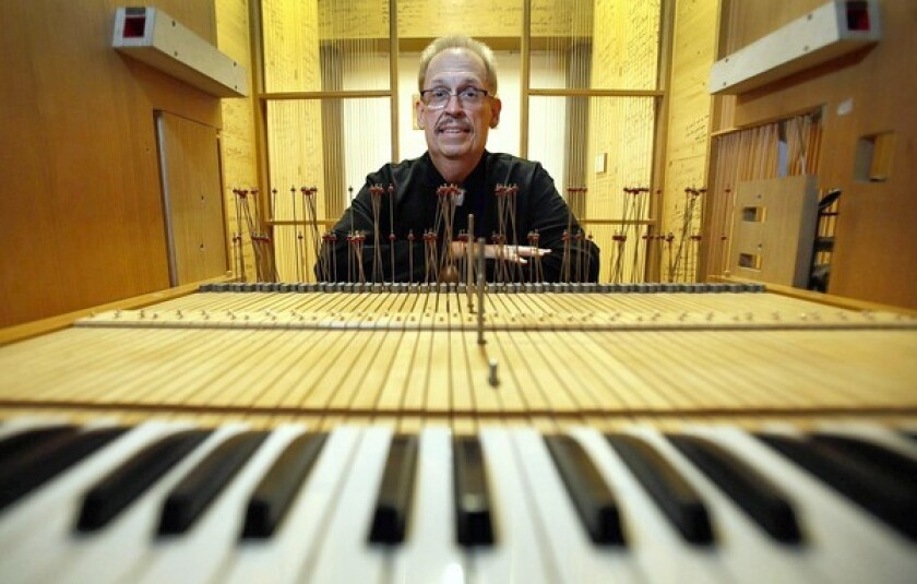 Phil Smith is the organ conservator at Walt Disney Concert Hall.