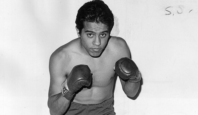 Bobby Chacon in 1974.