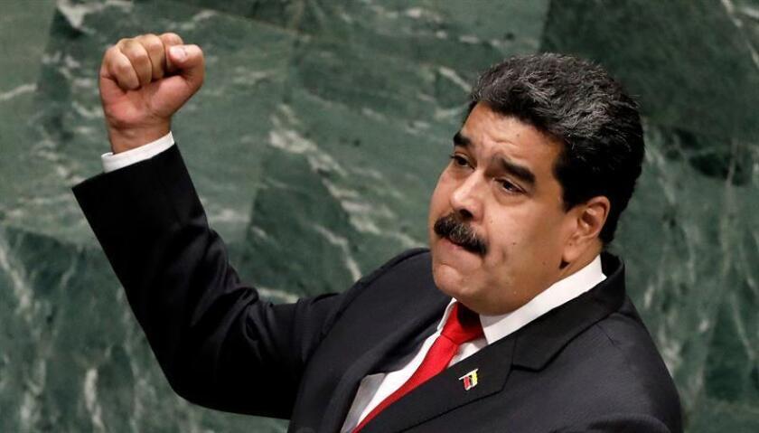 Con una intervención de unos 48 minutos, el presidente venezolano, Nicolás Maduro, dio este año el discurso más largo de la Asamblea General de la ONU, cuya 73 edición se cerró hoy en Nueva York. EFE/ARCHIVO