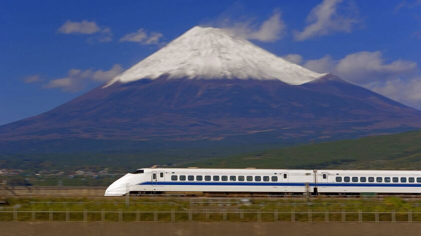 California's high-speed rail system would need a quicker average speed than Japan's Shinkansen.