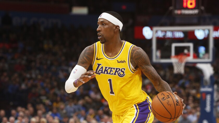Lakers' Kentavious Caldwell-Pope pushed through dark times, now flourishes as starter