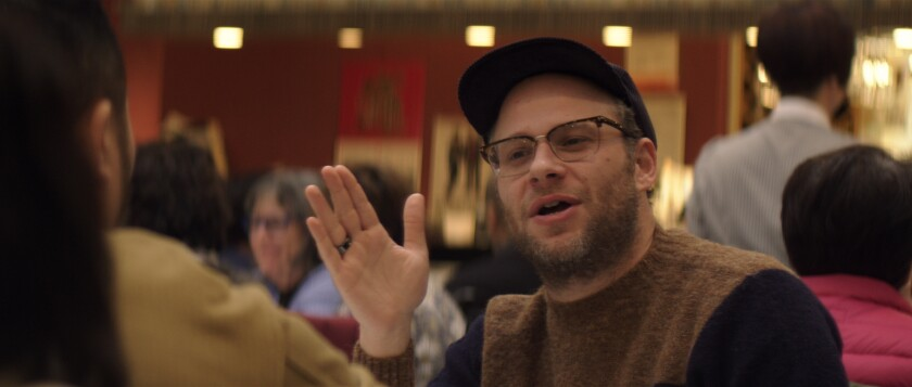 Seth Rogen at Sun Sui Wah in Vancouver, Canada.