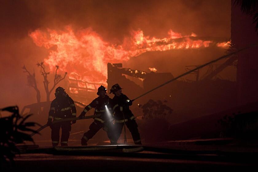 Massive fire and explosion in San Bruno