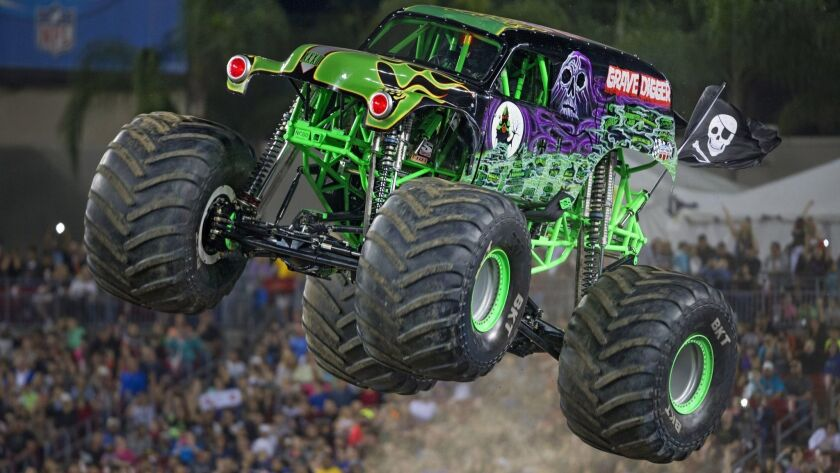 Grave Digger at Monster Jam at Petco Park.