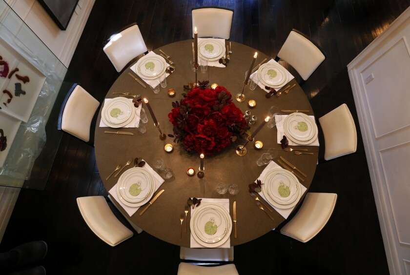 A tablescape by Yifat Oren of Oren Cove.