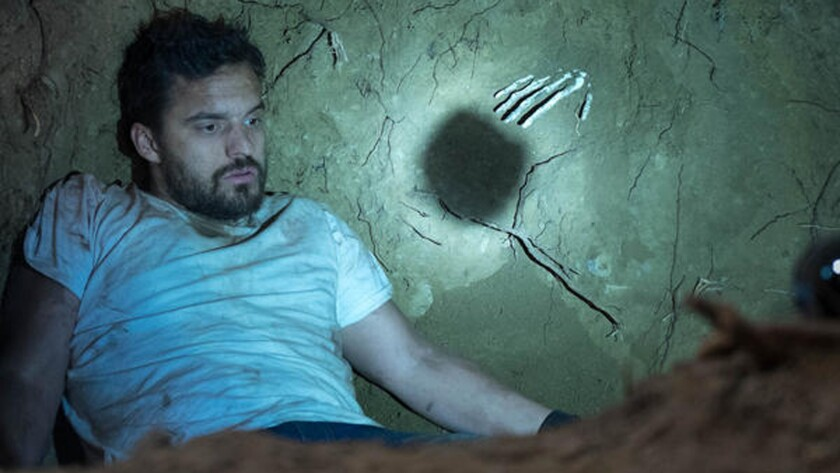 """Jake Johnson in """"Digging for Fire."""""""