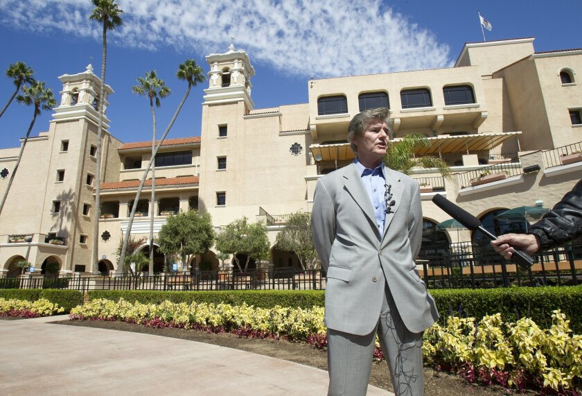 Tim Fennell, head of the Del Mar fair, is the No. 3 paid public fair executive in the state. His No. 2 is No. 1. [U-T file]