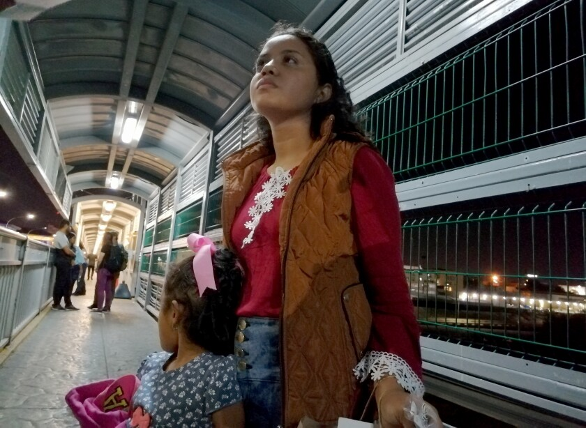 Tent courts open as latest hurdle for migrants seeking asylum in the U.S.