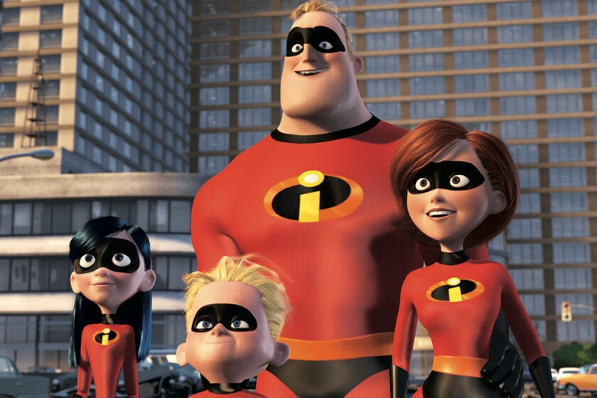 "A scene from ""The Incredibles,"" which won an Academy Award for animated feature in 2005."