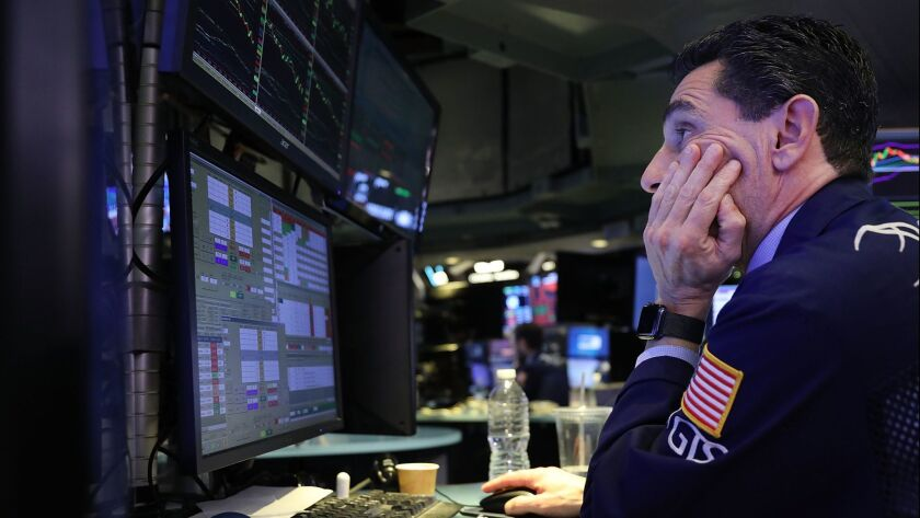 Dow Plunges Over 800 Points In Intraday Trading As Investors Dump Tech Stocks