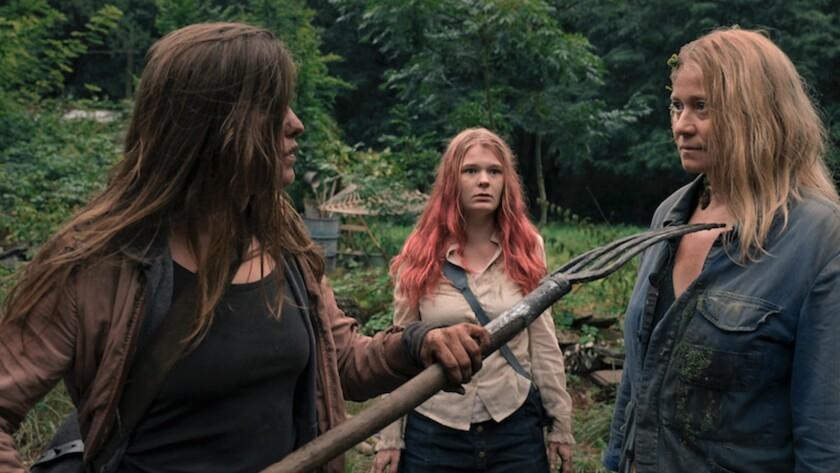 (L-R)- Eva ( Maja Lehrer ), Vivi (Gro Swantje Kohlhof) and G?rtnerin ( Trine Dyrholm ) in a scene fr