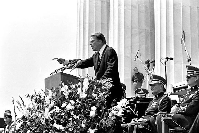 Billy Graham, minister to presidents and millions worldwide