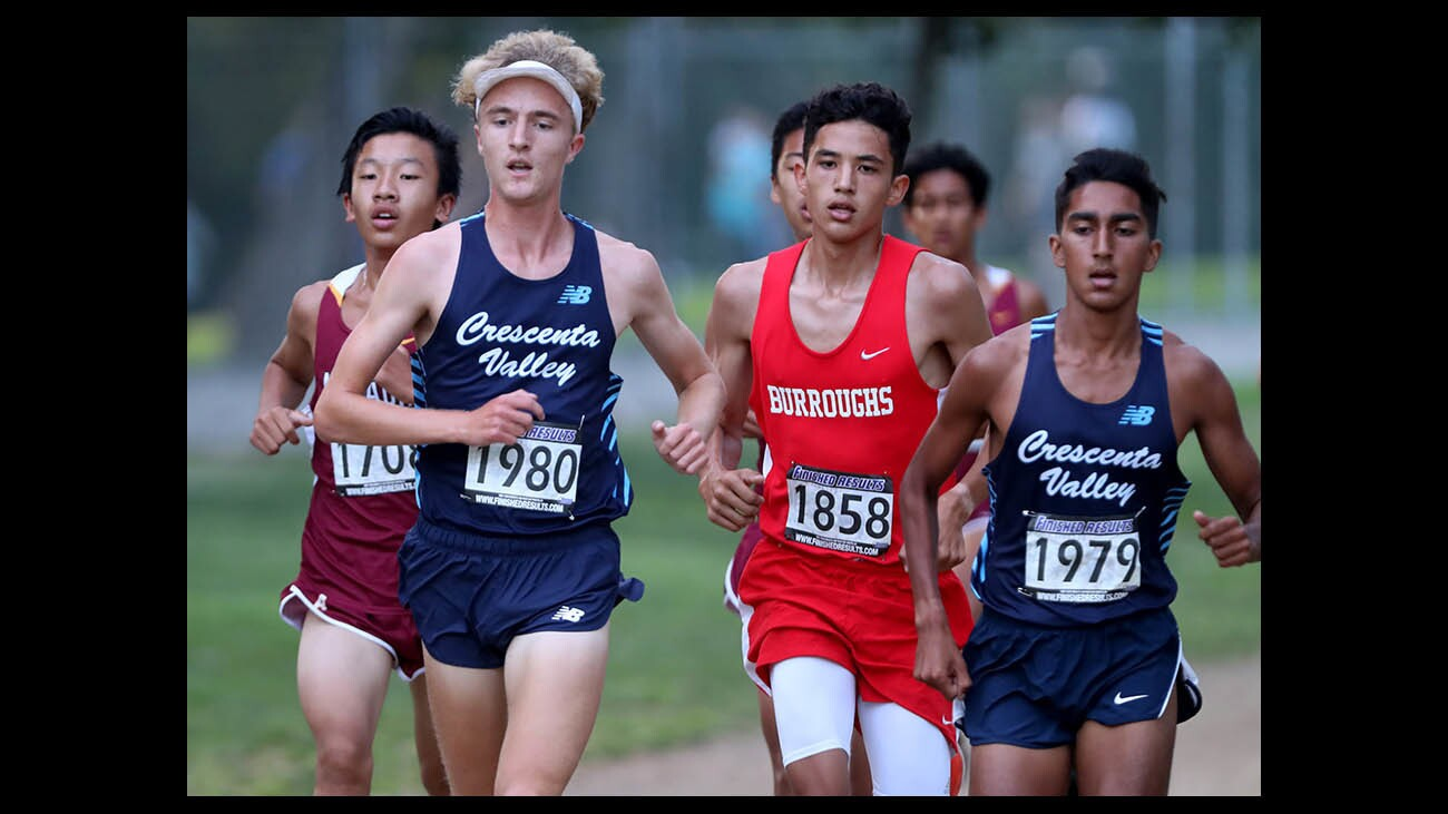 Photo Gallery: Pacific League Cross Country Meet #1 in the books, CV, Burbank shine