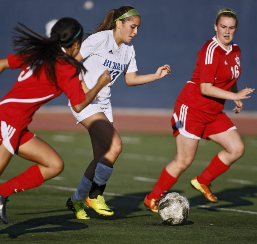 Burbank's Guerrero honored with All-CIF first-team award in girls' soccer