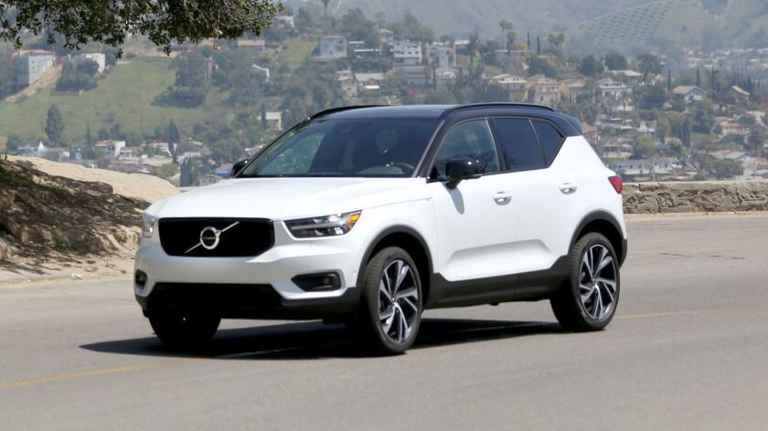 The 2019 Volvo XC40 is offered via a new subscription service that allows consumers to drive the car for $600 per month for two years.